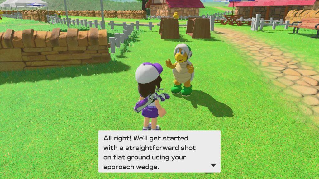 Mario Golf Super Rush Screenshot 4 Écran Partagé