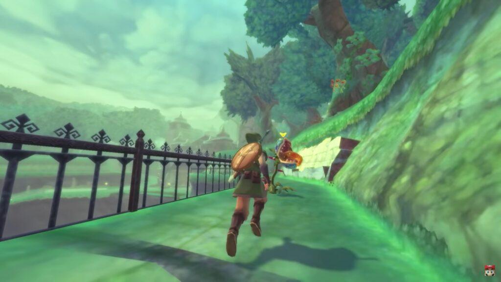 Skyward Sword HD Screenshot 4 Écran Partagé