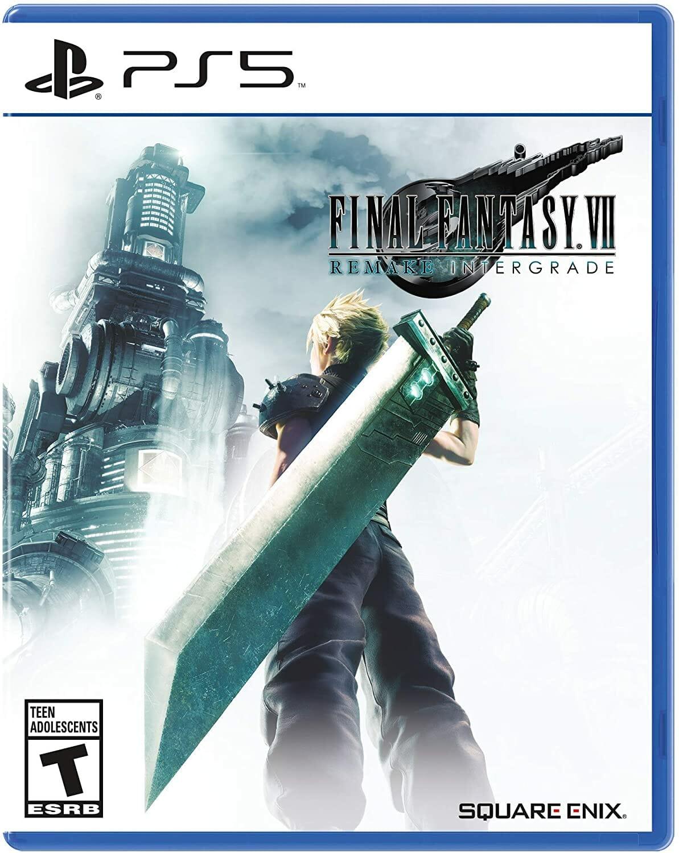 Final Fantasy VII Remake Intergrade Boxart Écran Partagé