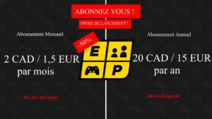 EP Abonnement Offre Lancement 2 FR