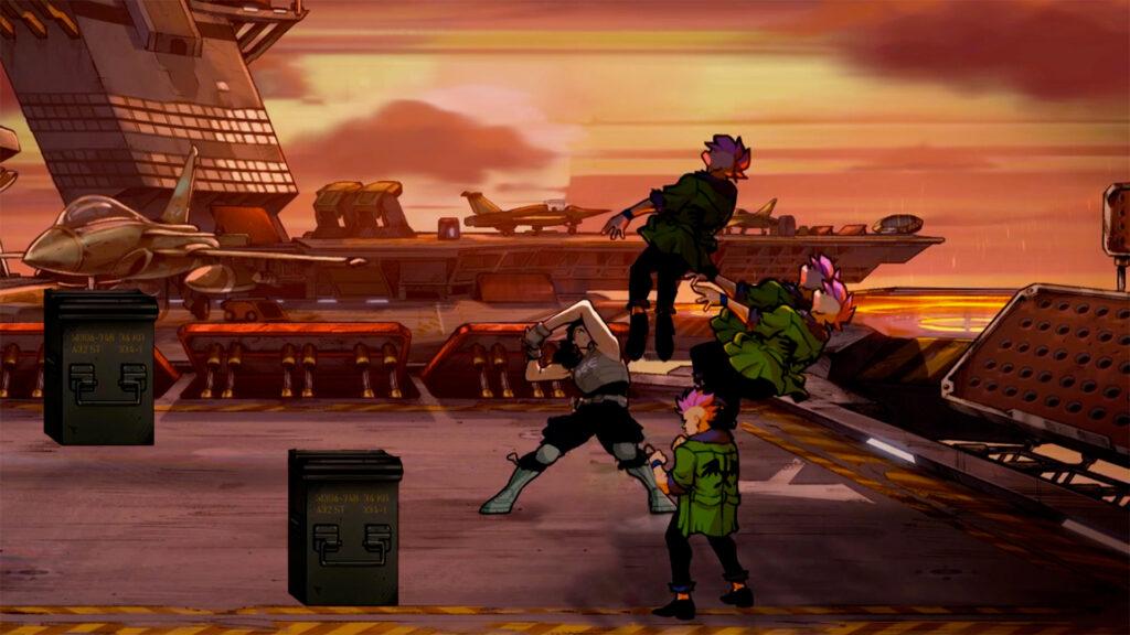 SOR4 DLC Screenshot2 Écran Partagé